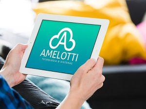 Logotipo da Amelotti Tecnologia e Sistemas