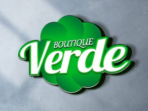 Logotipo da Boutique Verde