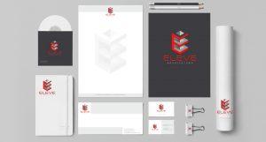 Logo e Identidade Visual da Eleve Arquitetura