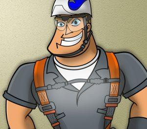 Mascote da Conast Segurança do Trabalho