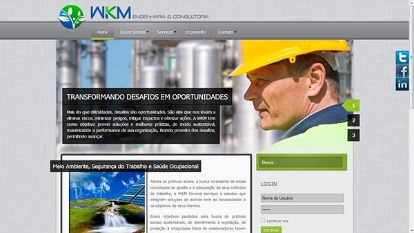 Criação de sites para empresas de engenharia e consultoria