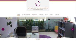 Site da Clínica de Psicologia e Arteterapia Danielle Bittencourt