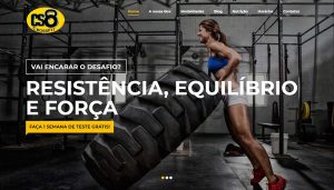 Site da Academia CS8 Crossfit