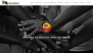 Site do Consulado de Moçambique