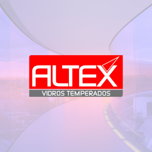 Logotipo Altex Vidros Temperados