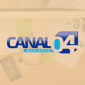 Logotipo Canal 04 Mídias Sociais