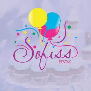 Sofiss Festas logotipo