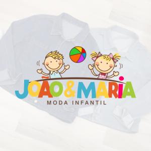 João e Maria Logotipo